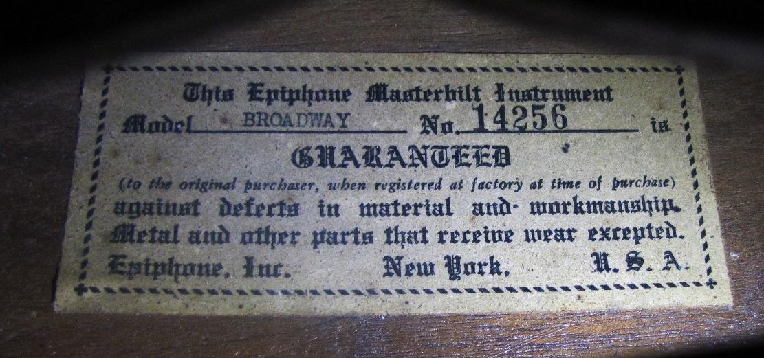 1939 Broadway 14256 label website