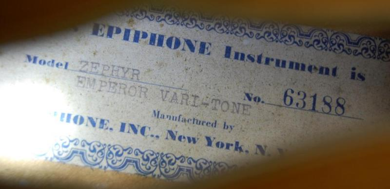 Zephyr Emperor Varitone 63188 label