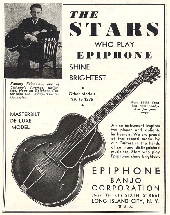 Metronome ad 1934 Deluxe