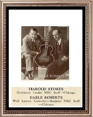 Stokes Harold Roberts Earl