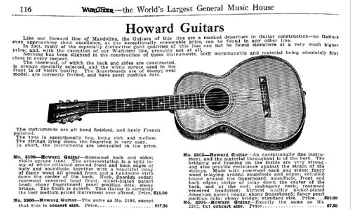 Howard ad FoX Guitars