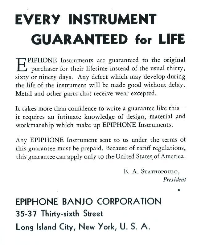 guarantee cat 1934