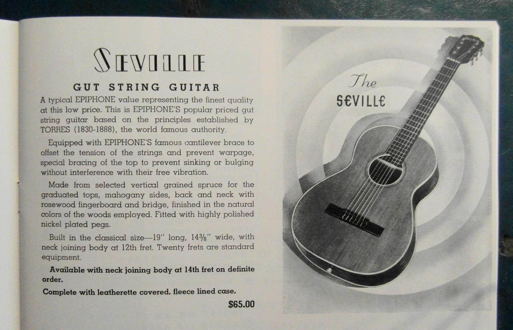 Seville cat1939 gutstring
