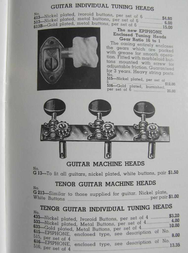 tuners cat 1939