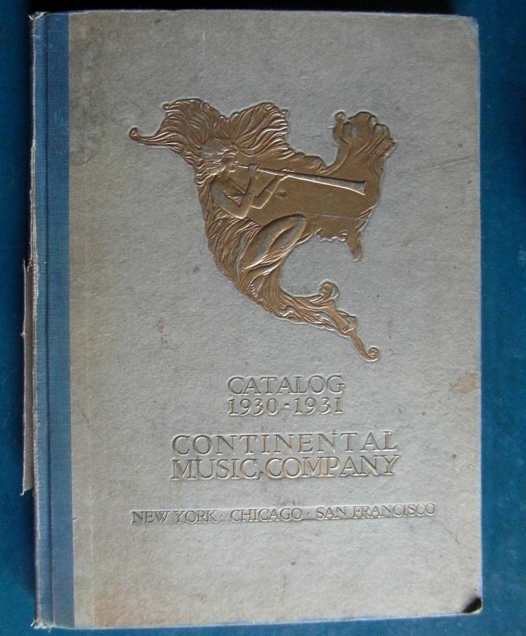 CMC 1930 omslag
