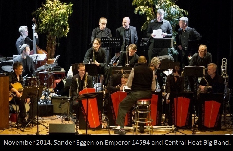 Sander Eggen with CHBB
