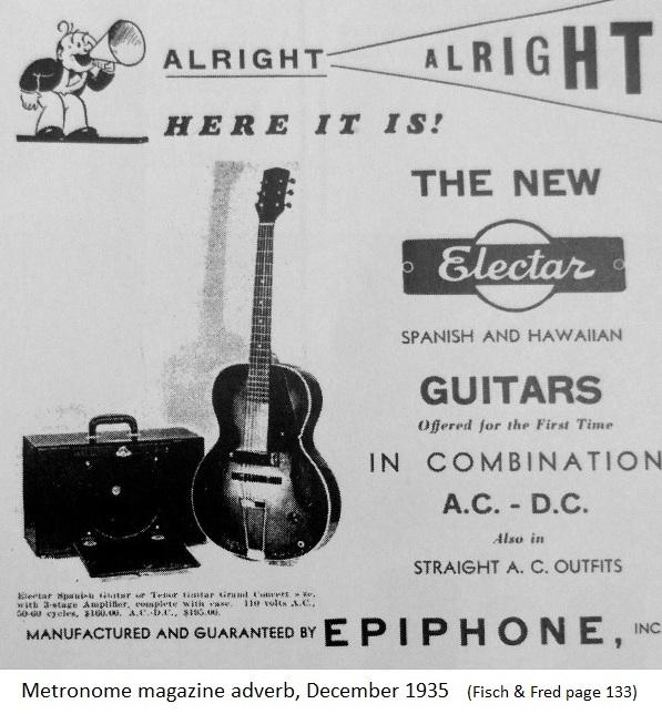 Metronome electar1935