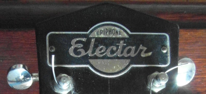 electar headstock plate